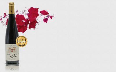 Le Pinot Noir Altitude 333 médaillé d'or !